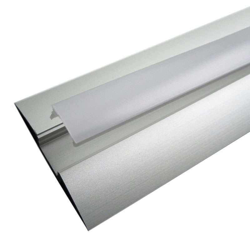 Perfil aluminio TREND para tiras LED, 1 metro